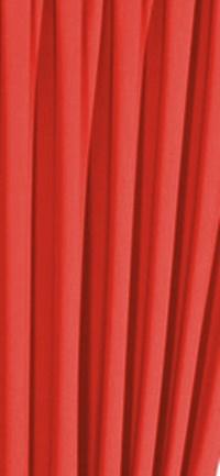 Lila csíkos organza függöny maradék 60x215cm/Cikksz:01141003