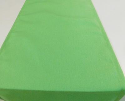 Zöld vászon asztalközép hosszú terítő/Cikksz:0210507