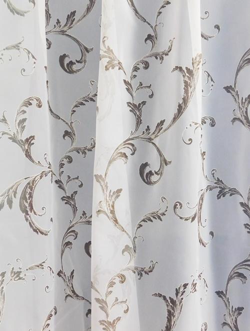 Fehér voila kész függöny Imelda rózsaszín fehér/Cikksz:01151152