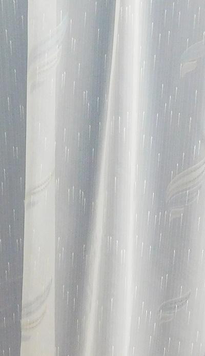 Fehér jaquard vitrage függöny BB34/018/Cikksz:01310373