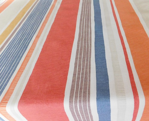 Színes virágos mintás vászon terítő/Cikksz:0210040