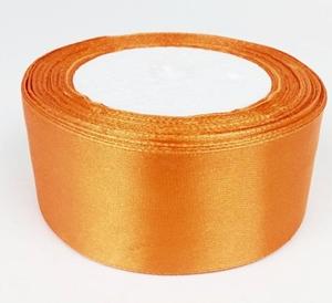 Szatén szalag narancs 4cm-s/Cikksz:150044
