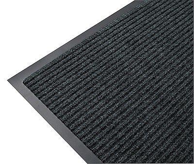 SC.50. gumi hátú bordázott szennyfogó lábtörlő 90x60cm antracit/Cikksz:111141