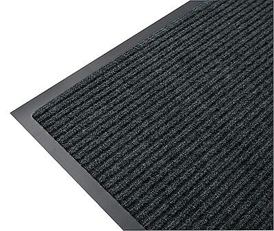 SC.50. gumi hátú bordázott szennyfogó lábtörlő 90x150cm antracit/Cikksz:1120121