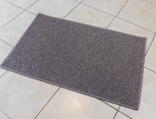 Akciós komfortos lábtörlő kis szőnyeg sötétszürke kb:50x80cm