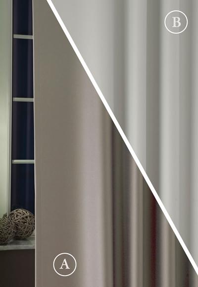 Blackout fényzáró sötétítő függöny üni acélszürke ezüst 300-as/Cikksz:01220245
