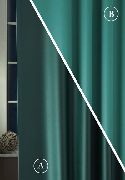 Blackout fényzáró sötétítő függöny üni türkiz azúr 300-as/Cikksz:01220246