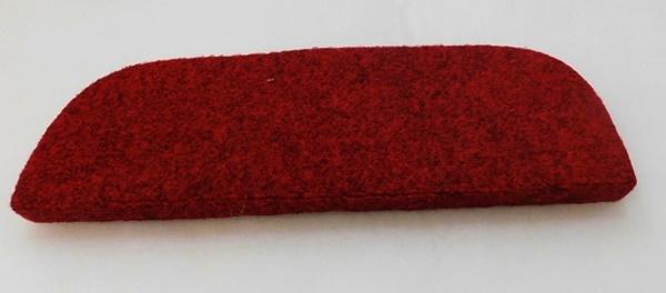 Lépcsőszőnyeg ipari filc sötétpiros 6020/Cikksz:0532062
